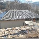Maison associative, toiture bac acier