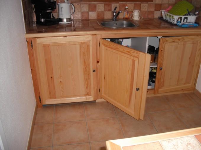 cuisine - constructeur maisons en bois - Meuble De Cuisine En Pin