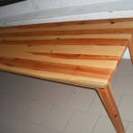 Table en pin Sylvestre