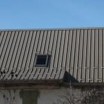 Toiture en bac acier sur construction traditionnelle (2)